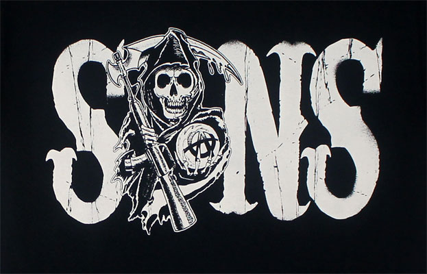 Circular Logo - Sons Of Anarchy T-shirt
