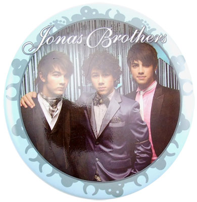 Jonas Brothers Button