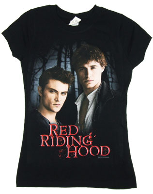 Peter and Henry - Red Riding Hood Sheer Women's T-shirt