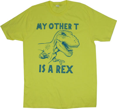 My Other T Is A Rex - Jurassic Park Sheer T-shirt