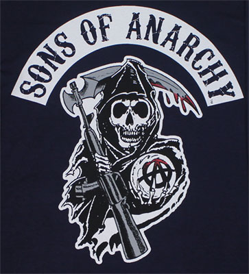 Classic Logo - Sons Of Anarchy Long Sleeve T-shirt