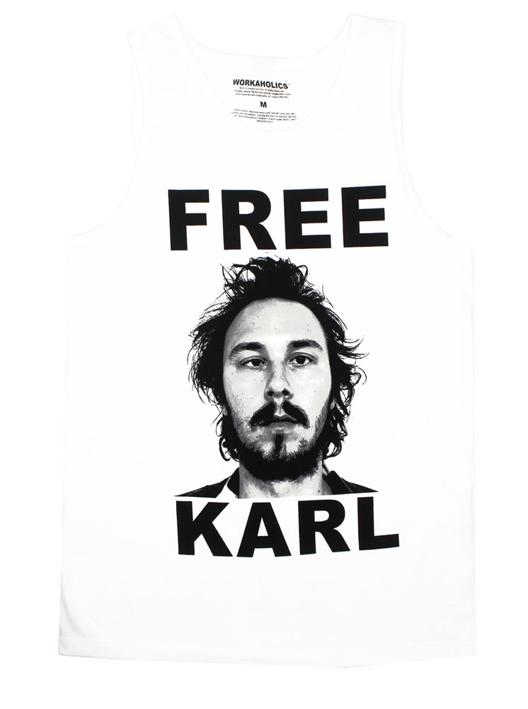Free Karl - Workaholics Tank Top