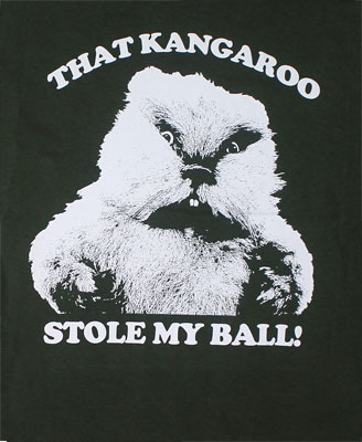 That Kangaroo Stole My Ball - Caddyshack T-shirt