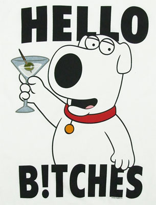 Hello B!tches - Family Guy Sheer T-shirt