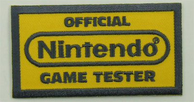 ACCESSORIES! Official Game Embroidered Patc