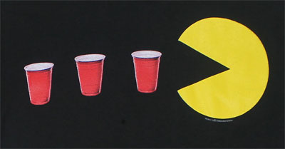 Red Cup Power Up - Pac-Man T-shirt