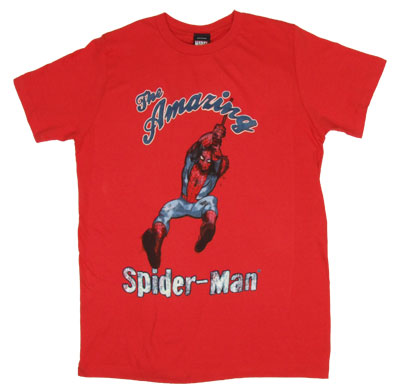 Vintage Swinger - Spider-Man - Marvel Comics Sheer T-shirt
