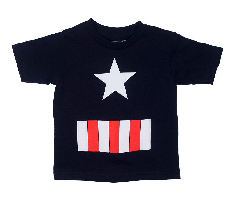 Captain America Costume - Marvel Comics Toddler T-shirt