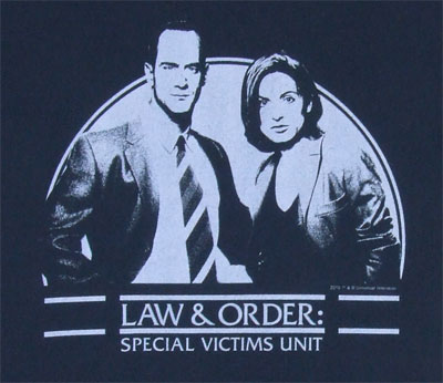 Law And Order SVU T-shirt
