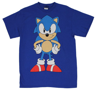 Big Attitude - Sonic The Hedgehog T-shirt