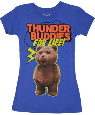 Thunder Buddies For Life! - Ted Sheer Women&#039;s T-shirt