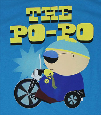 The Po-Po - South Park T-shirt