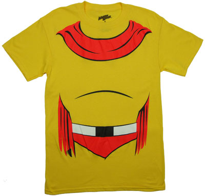 Mighty Mouse Chest - Mighty Mouse T-shirt