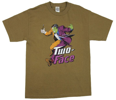 Two Face - DC Comics T-shirt