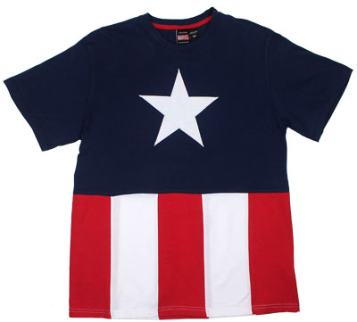 Full Captain Suit - Marvel Comics T-shirt