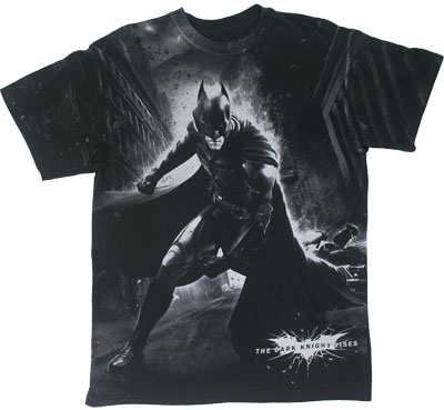 Epic Battle - Dark Knight Rises T-shirt