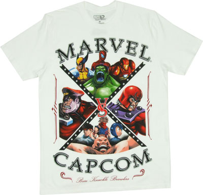 Bare Knuckle Brawlers - Marvel Vs. Capcom Sheer T-shirt