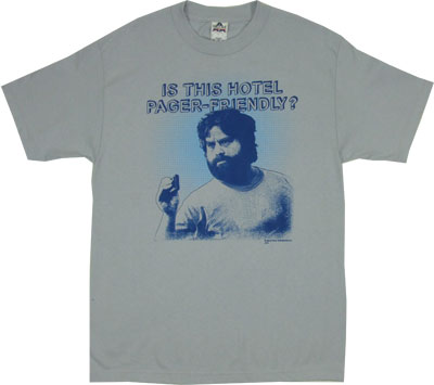 Is This Hotel Pager-Friendly? - Hangover T-shirt
