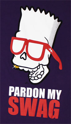 Pardon My Swag - Simpsons T-shirt