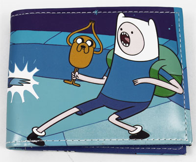 Finn And Jake Vs. The Ice King - Adventure Time Wallet