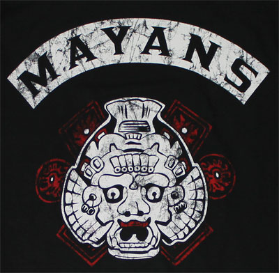 Mayans - Sons Of Anarchy Long Sleeve T-shirt