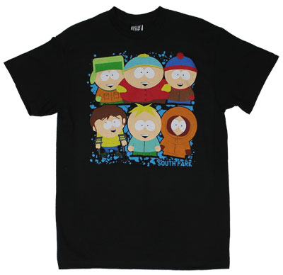 Park Friends - South Park T-shirt