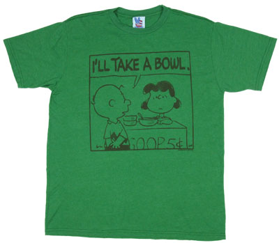 I'll Take a Bowl - Peanuts - Junk Food Men's T-shirt