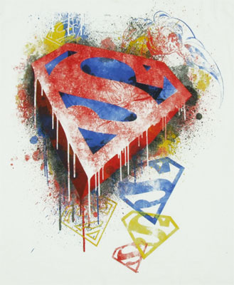Superman Splatter - DC Comics T-shirt