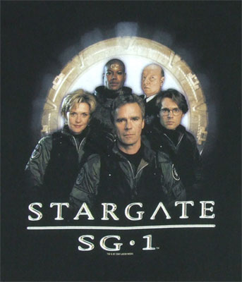 SG1 Team - Stargate SG1 T-shirt