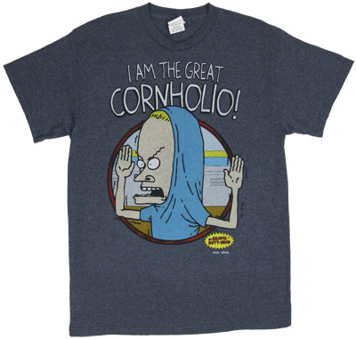 I Am The Great Cornholio - Beavis And Butthead T-shirt