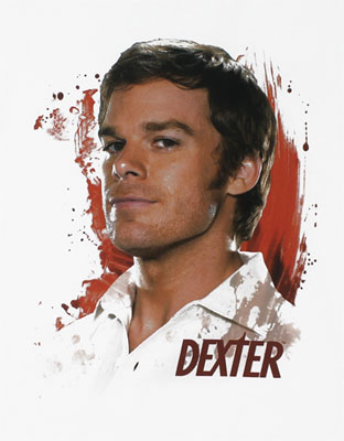 Blood Splatters - Dexter T-shirt