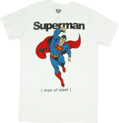 (Man Of Steel) - DC Comics T-shirt