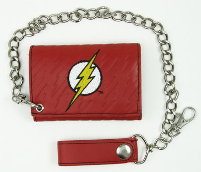 Flash Logo - DC Comics Chain Wallet