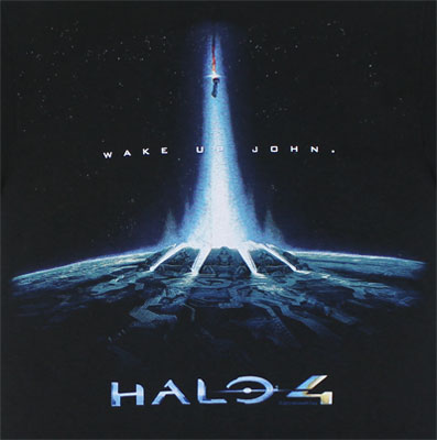 Wake Up John - Halo 4 T-shirt