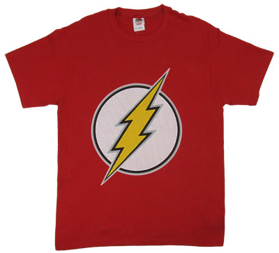 Flash Logo (Mesh) - DC Comics T-shirt