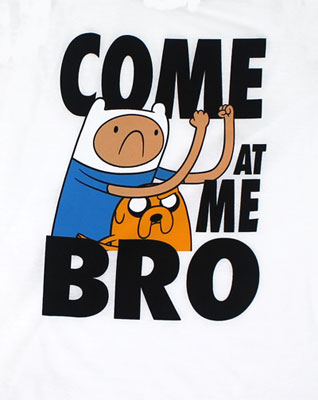 Come At Me Bro - Adventure Time Tank Top
