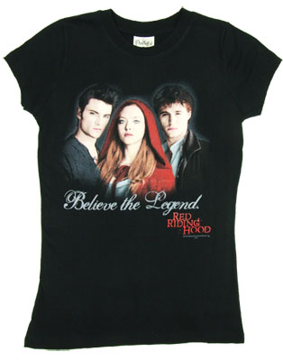 Believe The Legend - Red Riding Hood Sheer Women&#039;s T-shirt