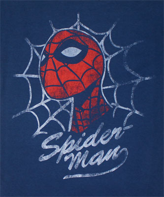 Spider-Man Looking - Marvel Comics Sheer T-shirt