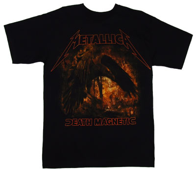 Death Magnetic Raven - Metallica T-shirt