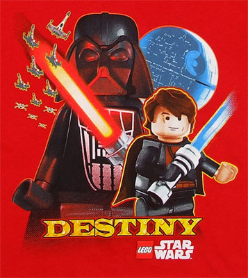 Destiny - LEGO Star Wars Juvenile T-shirt