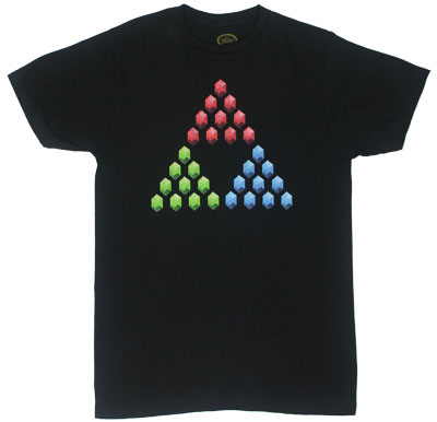 Rupee Triforce - Nintendo T-shirt