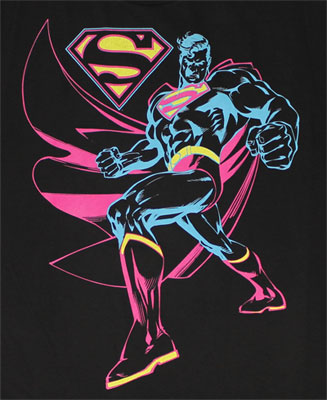 Neon Superman - DC Comics T-shirt