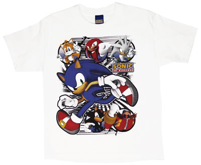 Wilder - Sonic The Hedgehog Youth T-shirt