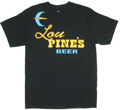 Lou Pine's Beer - True Blood T-shirt