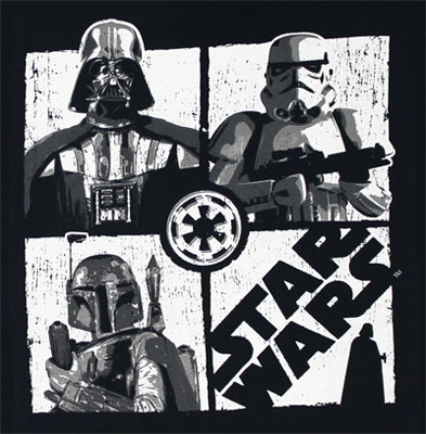 UV Colors - Star Wars Juvenile T-shirt