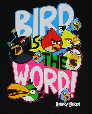 Bird Is The Word! - Angry Birds Youth T-shirt