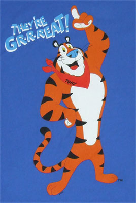 They're Gr-r-reat!- Frosted Flakes Sheer T-shirt