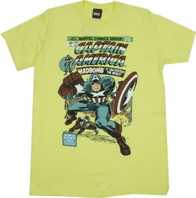 Captain America #193 - Marvel Comics Sheer T-shirt