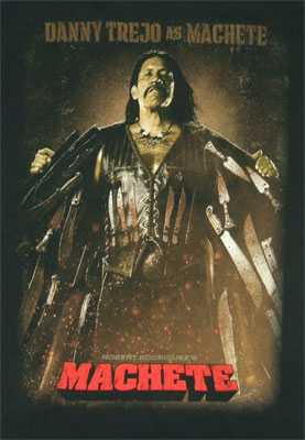 Danny Trejo As Machete - Machete T-shirt