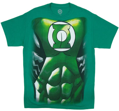 Green Lantern Costume - DC Comics T-shirt